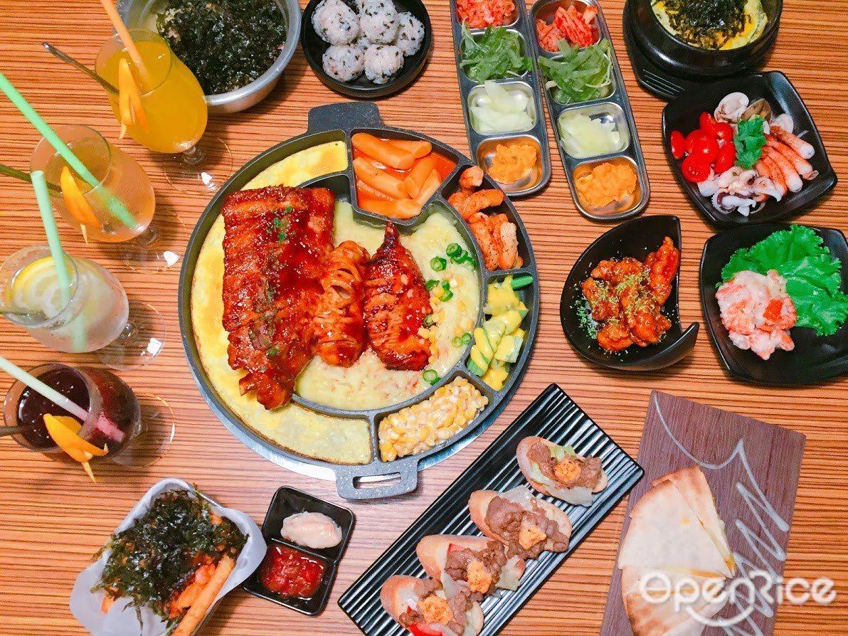 ▲搭配多種口味的氣泡燒酒,簡直是韓食控心中最完美的美味天堂! ※ 提醒您:禁止...