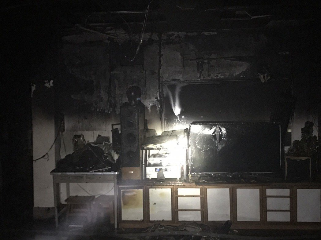 今晚豪雨 彰化市卻發生火警幸無傷亡