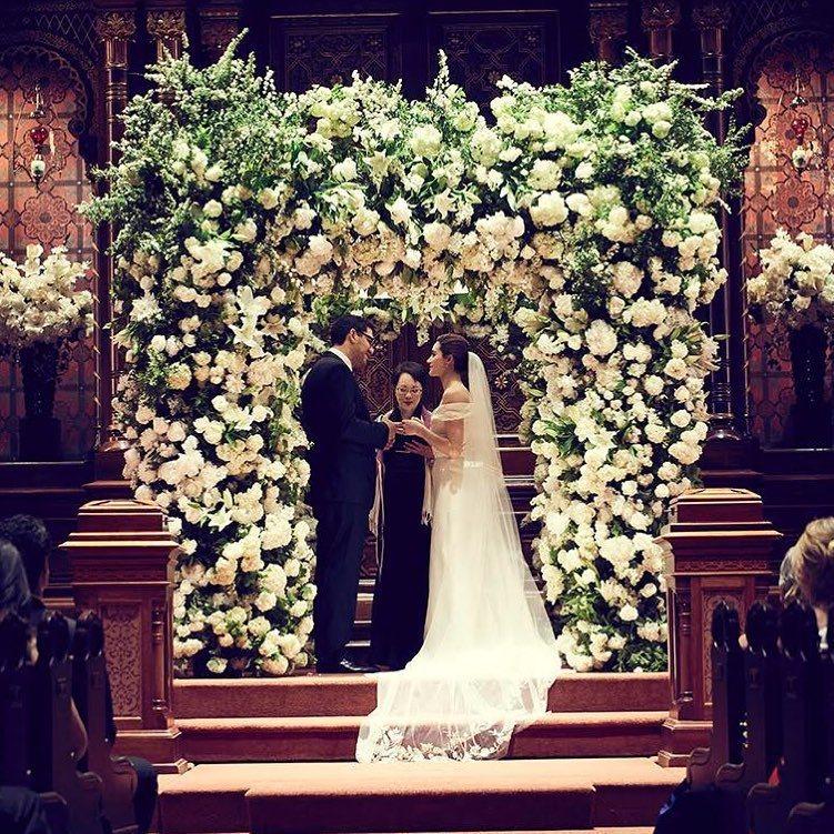 艾美羅森在紐約舉行婚禮。圖/摘自Instagram