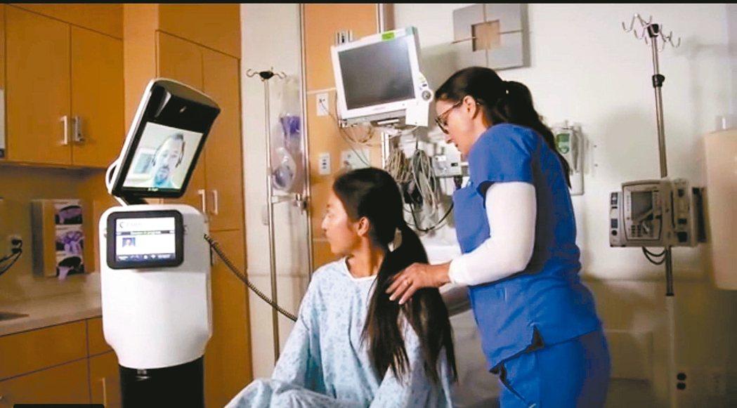 醫療機器人進醫院,當醫護、藥師的幫手。 圖╱摘自網路https://www.yo...