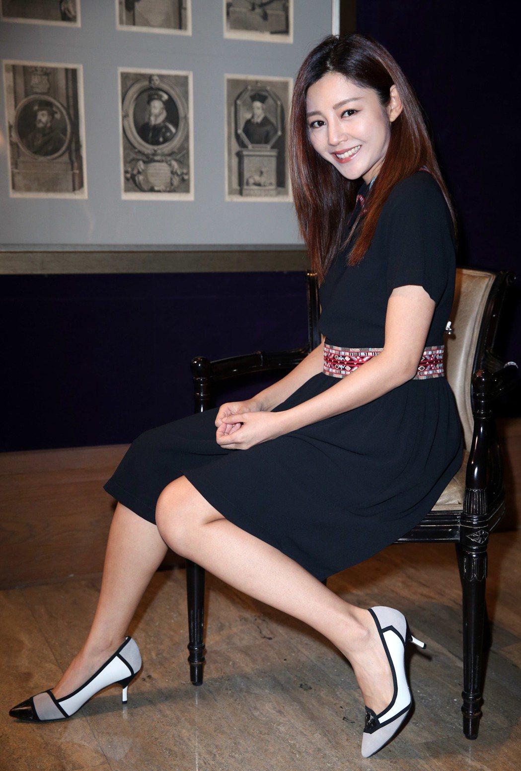 電影「失眠」女主角星衛詩雅。記者陳瑞源/攝影