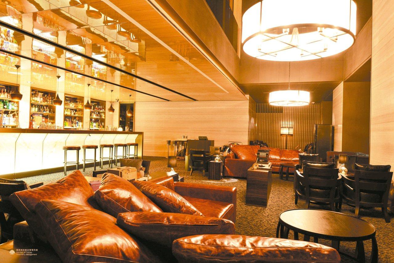 慕軒飯店URBAN331 威士忌酒吧。 圖/業者提供 ※ 提醒您:禁止酒駕 飲...