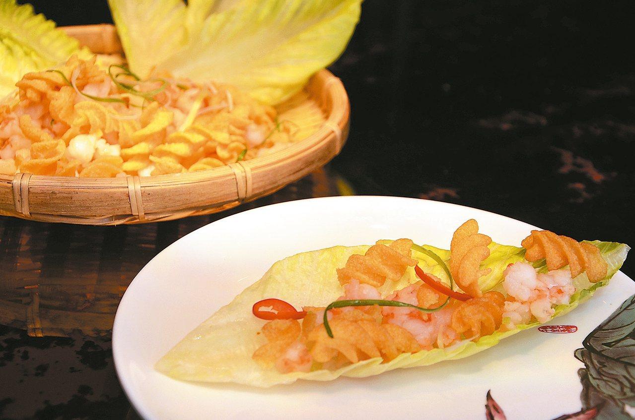 唰嘴可樂蝦 圖/黃冠穎