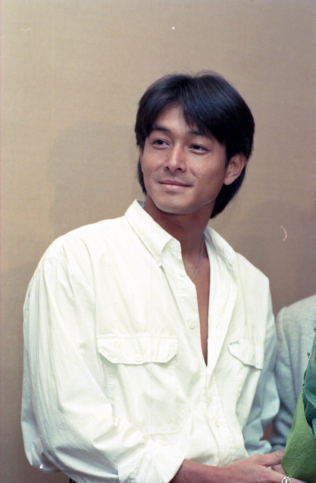 吉田榮作1995年曾來台開唱。 圖/聯合報系資料照
