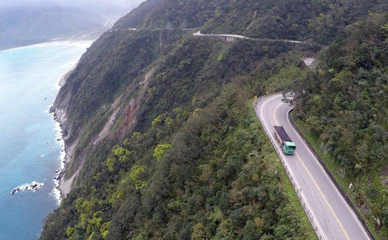 圖為蘇花公路114.2公里處。 圖/聯合報系資料照
