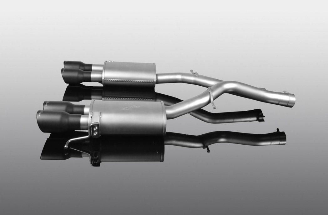 尾管可選擇鍍鉻或是運動黑(Sport Black)。圖/摘自AC Schnitzer