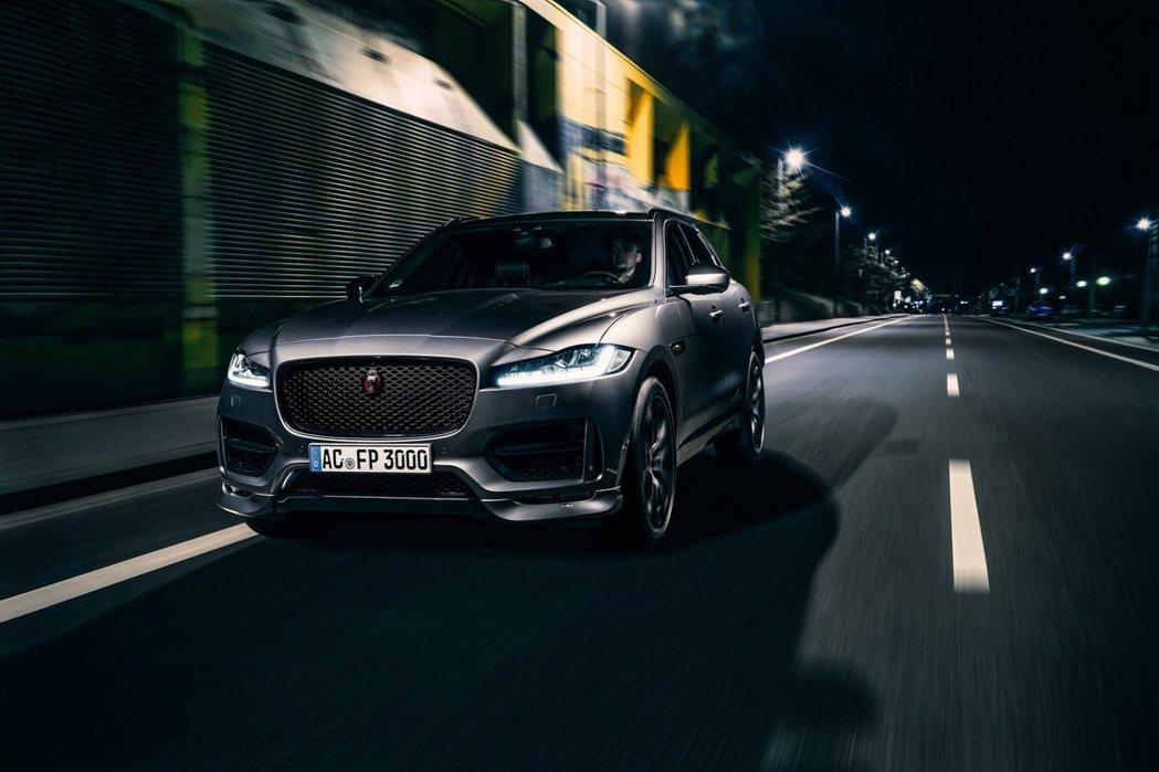 德國改裝廠AC Schnitzer操刀首輛Jaguar車款F-Pace。圖/摘自AC Schnitzer