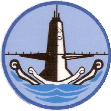 海軍256(潛艦)戰隊的隊徽。 圖/取自網路