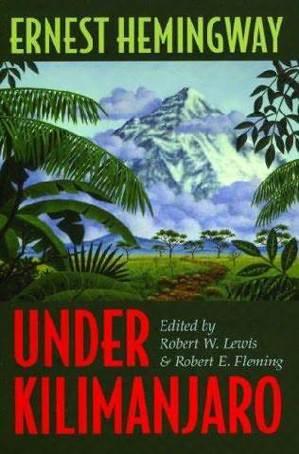 《吉力馬扎羅山下》(Under Kilimanjaro)書影。