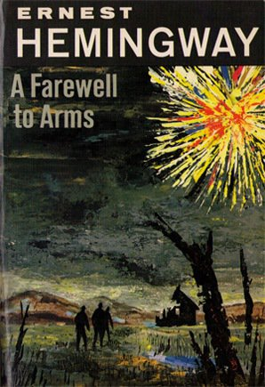 《戰地春夢》(A Farewell to Arms)書影。