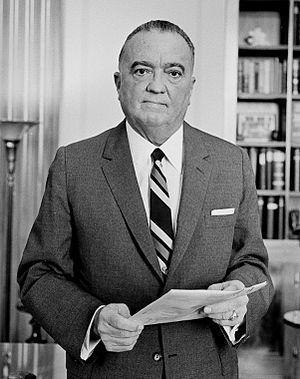 John Edgar Hoover。圖/取自wikipedia
