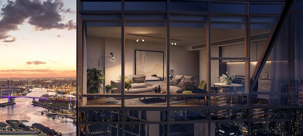 金石寰宇地產全台獨家代理墨爾本CBD六星級酒店式公寓West Side Plac...