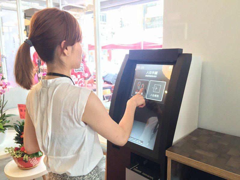 SINGLE INN單人房旅店首創全台電子支付。記者林政鋒攝影