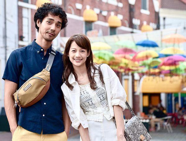 「雖然媽媽說我不可以嫁去日本」將真人實事的異國戀情搬上大銀幕。圖/得藝文創提供