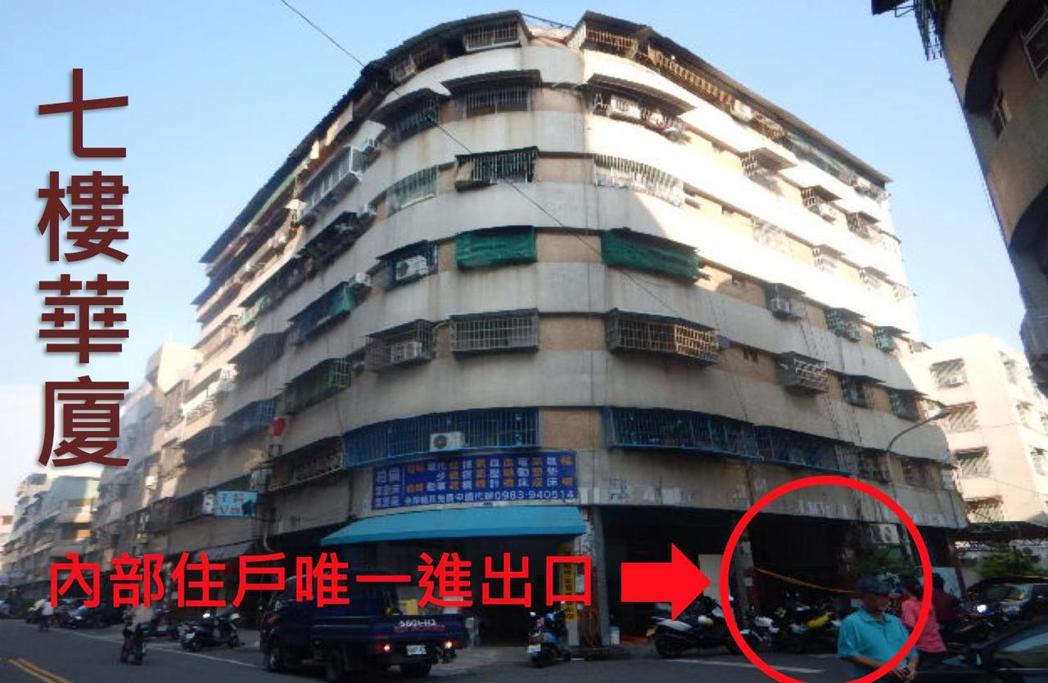2016年8月30日,鳳山區福祥街大樓火警,當時上百人成功獲救,但也有少數民眾逃...