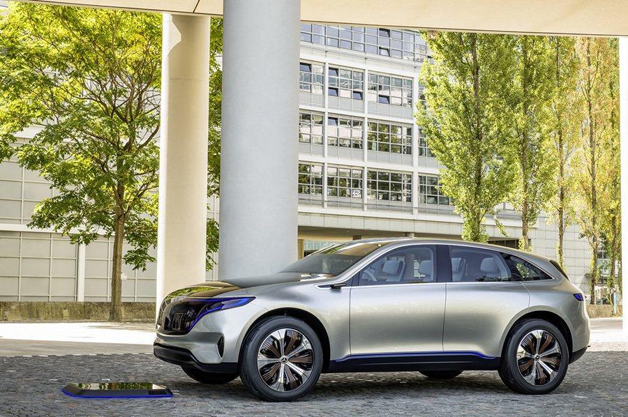 Mercedes EQ concept概念車 Mercedes-Benz提供