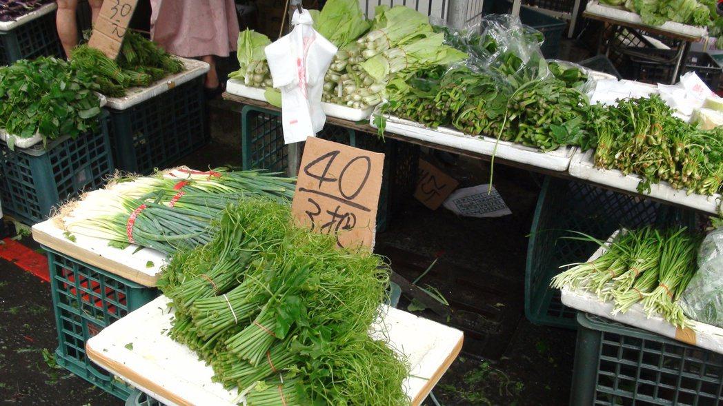 龍鬚菜因雨反而便宜 原來是農民搶收