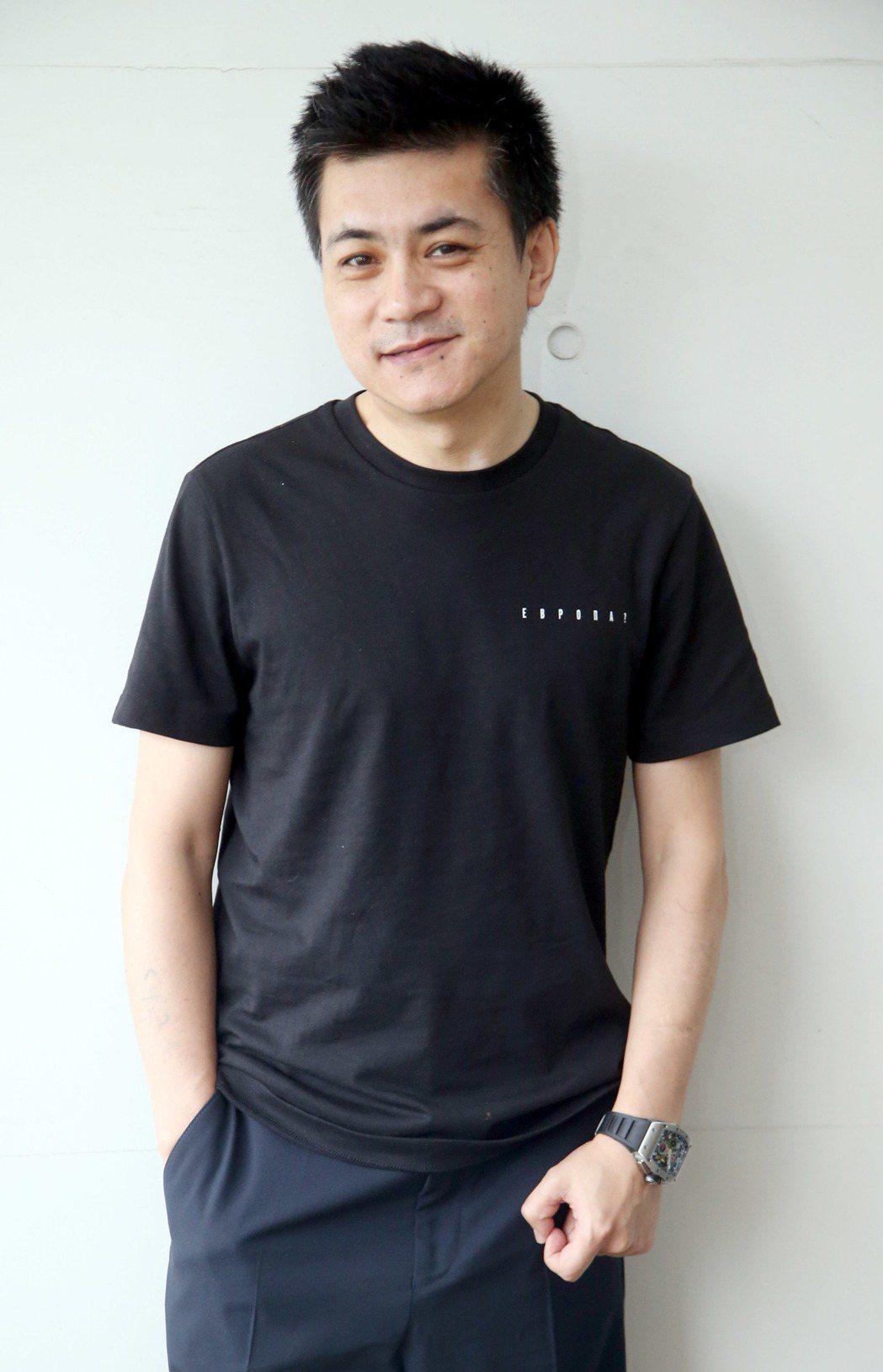 大陸導演楊樹鵬。記者屠惠剛/攝影