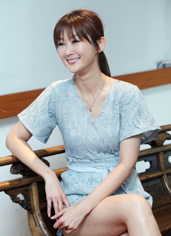 陳珮騏走過7個月短命婚,對婚姻仍有期待。記者陳瑞源/攝影