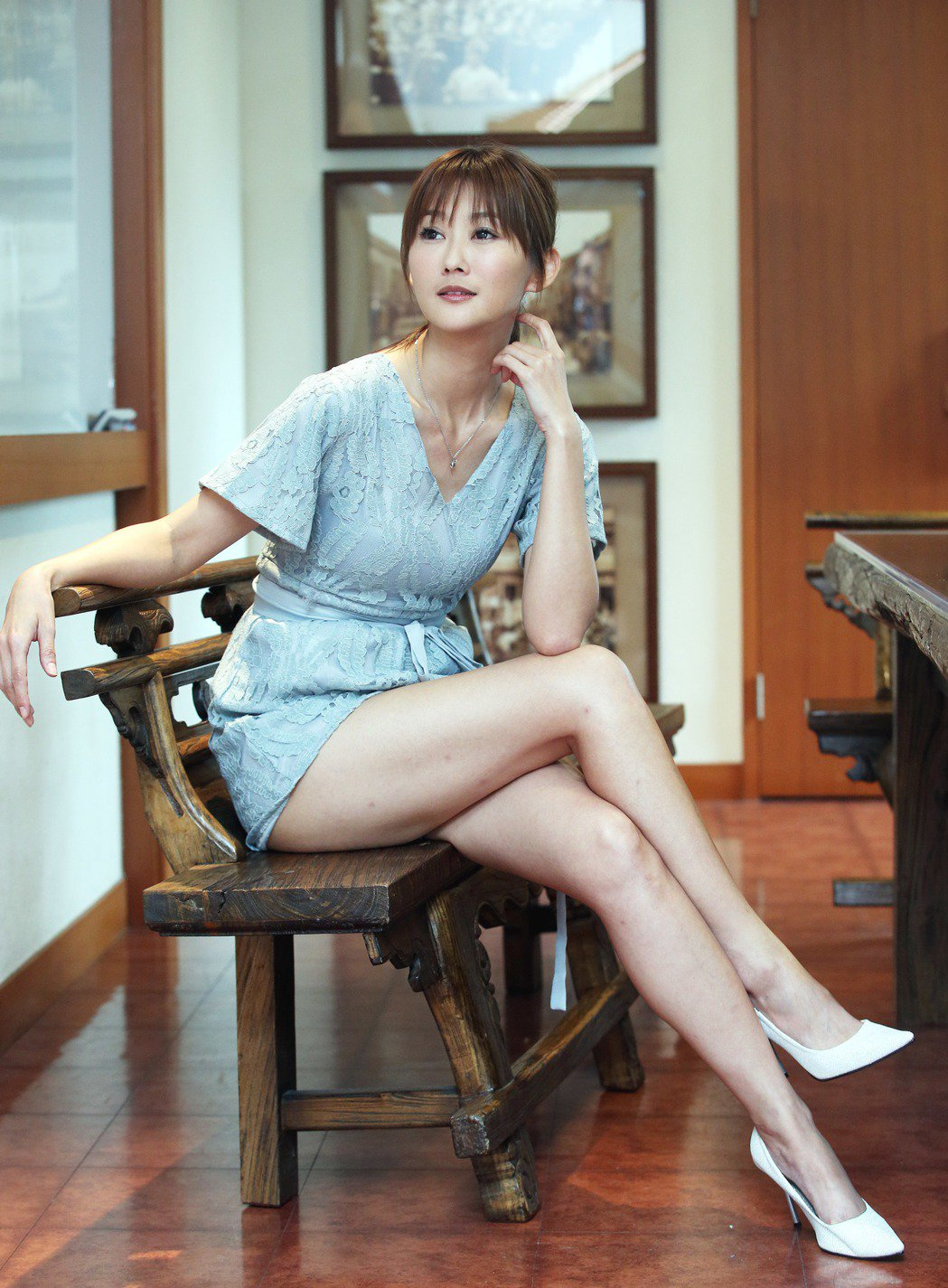 陳珮騏開理想對象條件,最好離過婚。記者陳瑞源/攝影