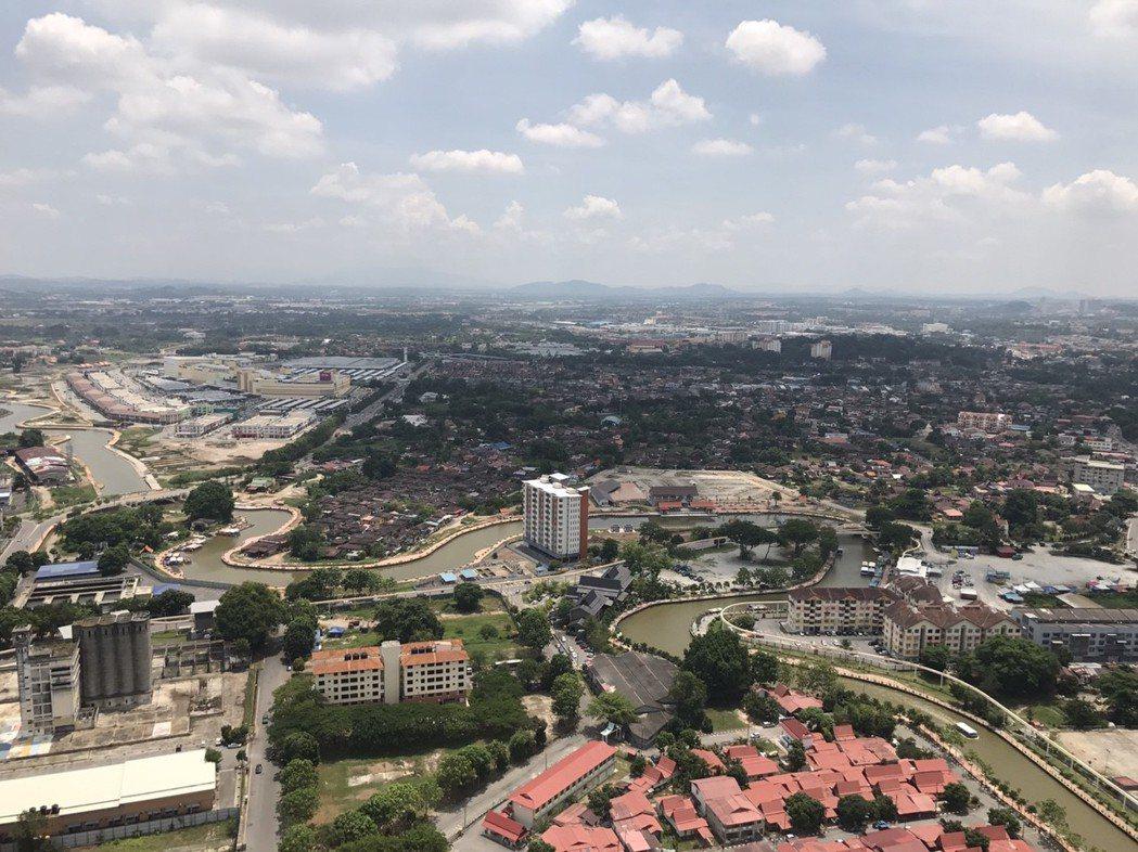 馬六甲河與馬六甲舊市區