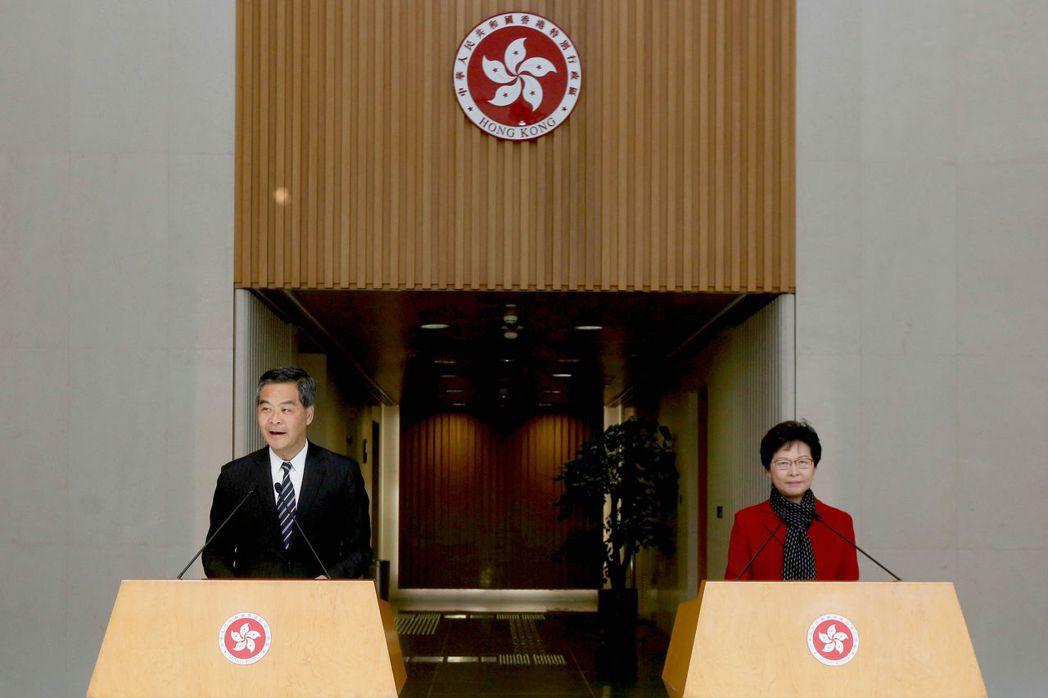 準備於7月1日就任的香港新任特首林鄭月娥,自開始籌組行政班底就屢傳出困難。 圖/...