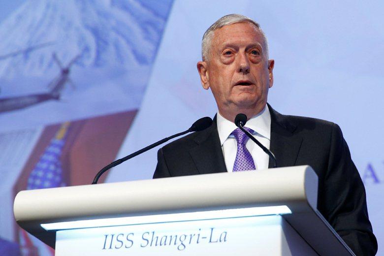 為了強調這種大棒與胡蘿蔔政策的可信度,馬蒂斯在演講中揭櫫美國國防部未來對亞太的三...