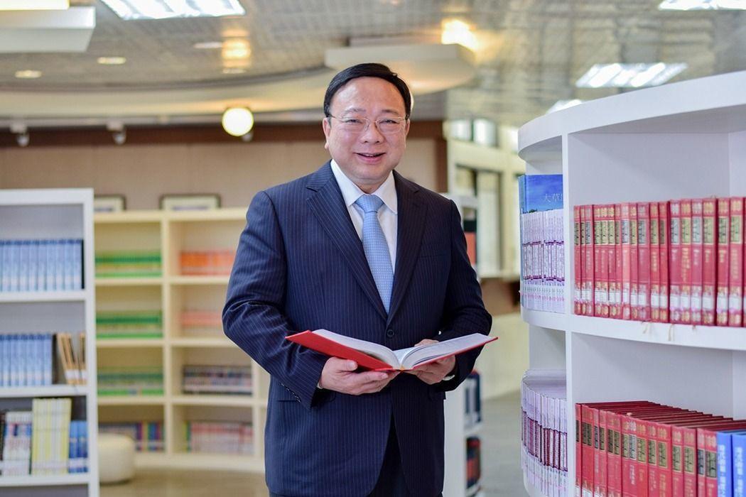 中華大學校長劉維琪。 圖/中華大學提供