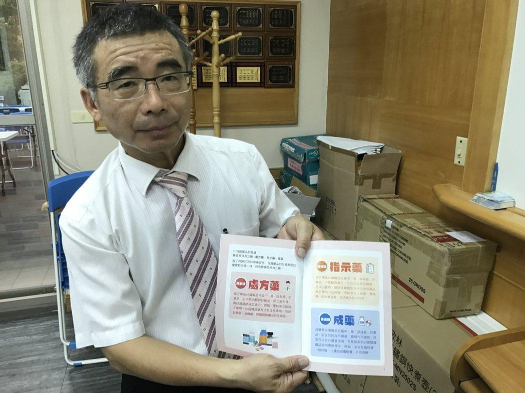 嘉義台南用藥教育中心召集人黃昭勳。記者鄭宏斌/攝影