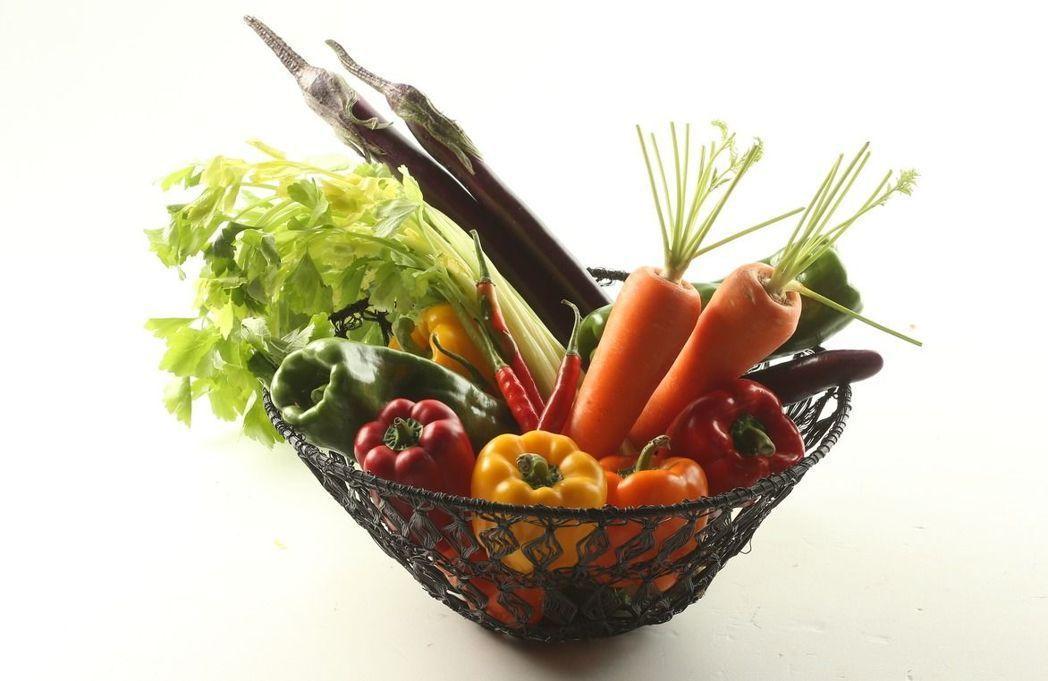 根莖類蔬菜纖維多。聯合報系資料照/記者陳立凱攝影