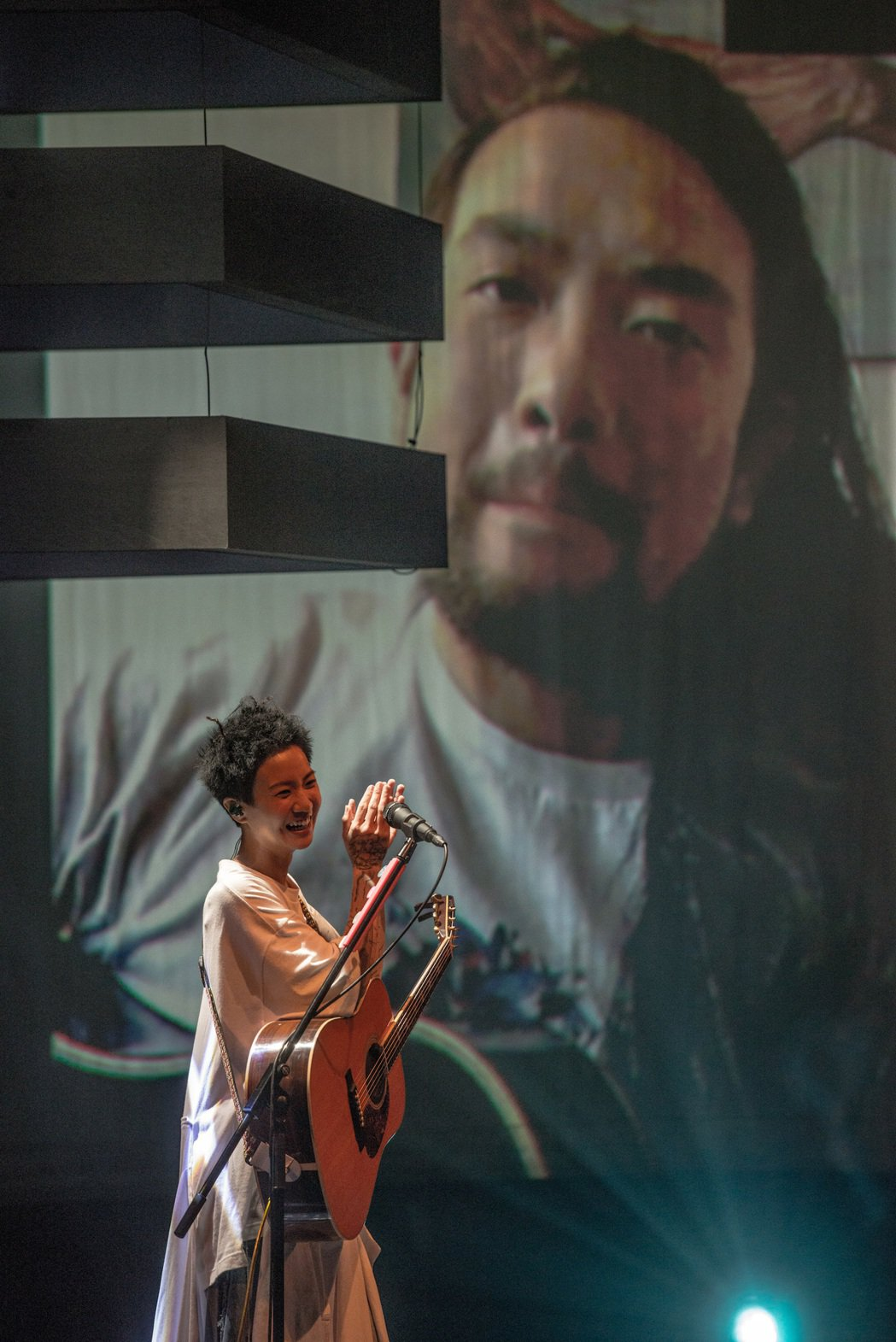 盧凱彤在香港開唱。圖/Rockmui Ltd.提供