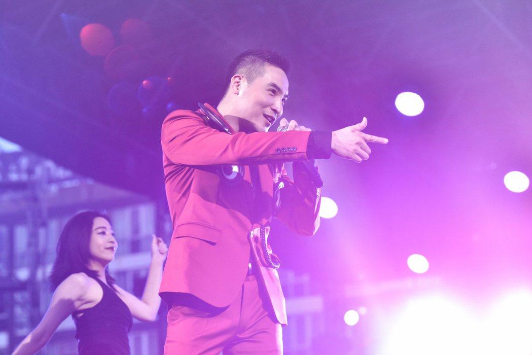 谷阿莫在曼谷參加亞洲熱播盛典。圖/WebTVAsia提供