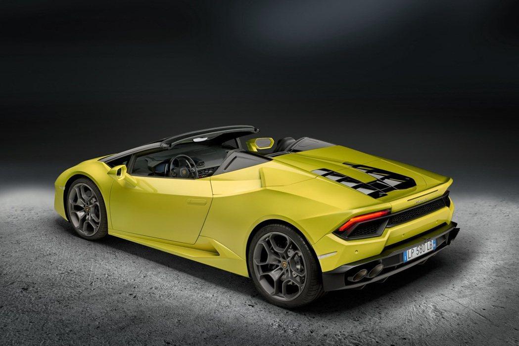 Lamborghini Huracan。圖/Lamborghini提供
