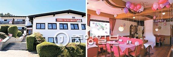 2016年6月崔順實買下德國法蘭克福的一間酒店,邀親友舉辦派對。圖/南韓中央日報