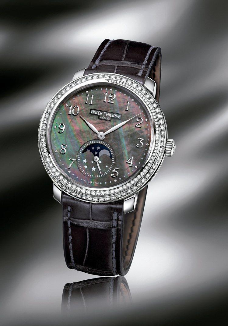 百達翡麗複雜時計系列編號4968G Diamond Ribbon女錶,設計概念來...