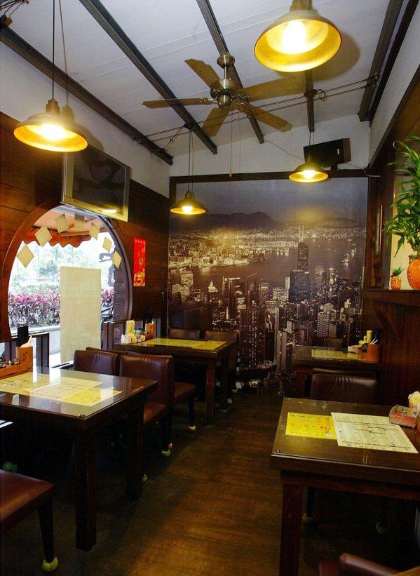 祥發茶餐廳店景。記者陳俊吉/攝影