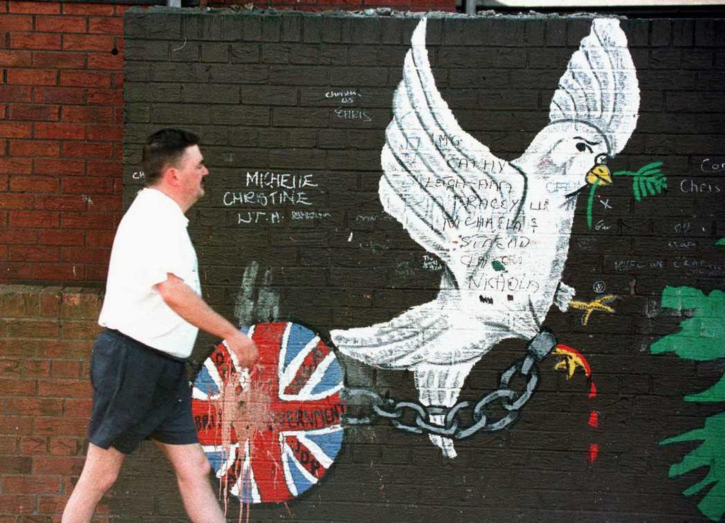 當1948年愛爾蘭共和國正式成立後,關於北愛爾蘭區域是否續留聯合王國?或是併入愛...