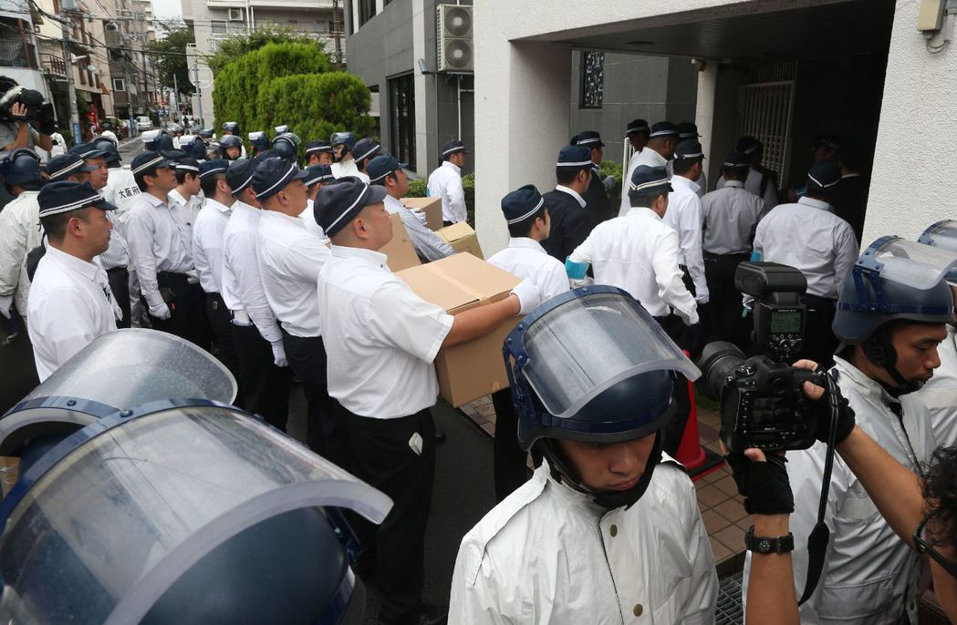 兵庫縣警察本部設立特暴隊一舉,是從1992年《暴力團對策法》實施以來最大型的掃蕩...