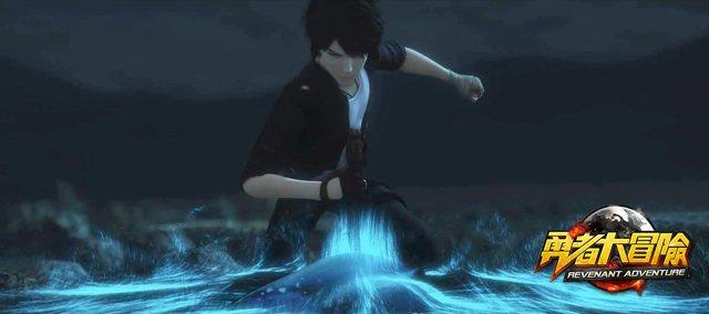 神秘力量,威震八方!
