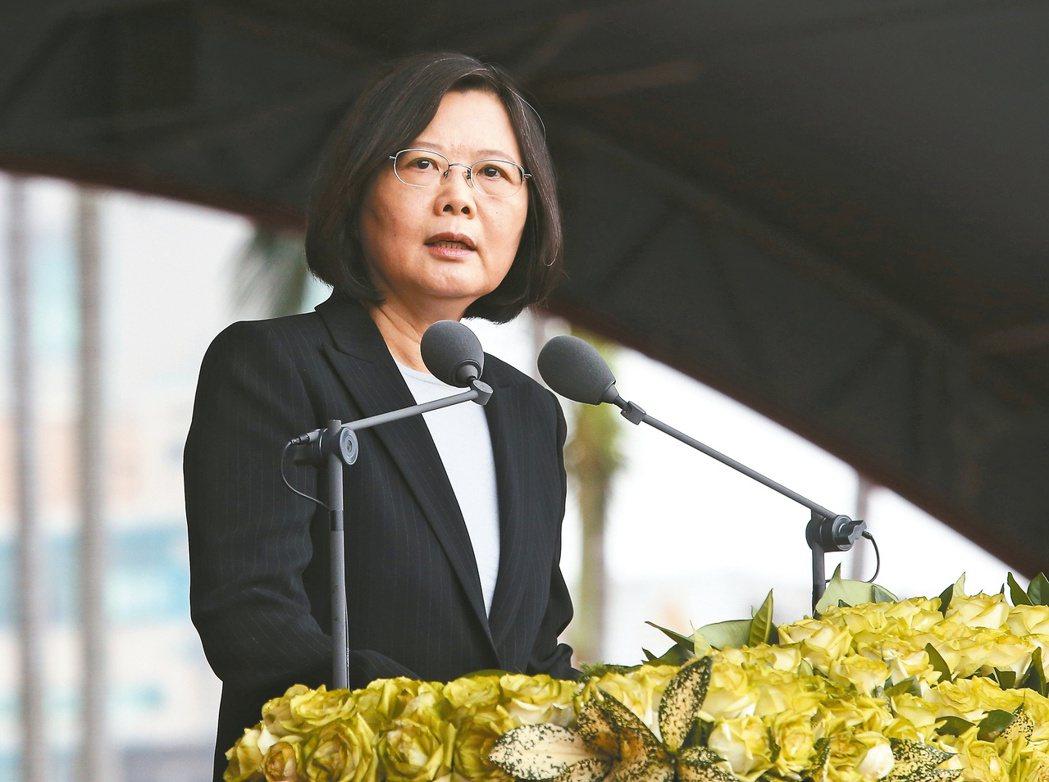 蔡英文是台灣第一位女總統。 圖/報系資料照