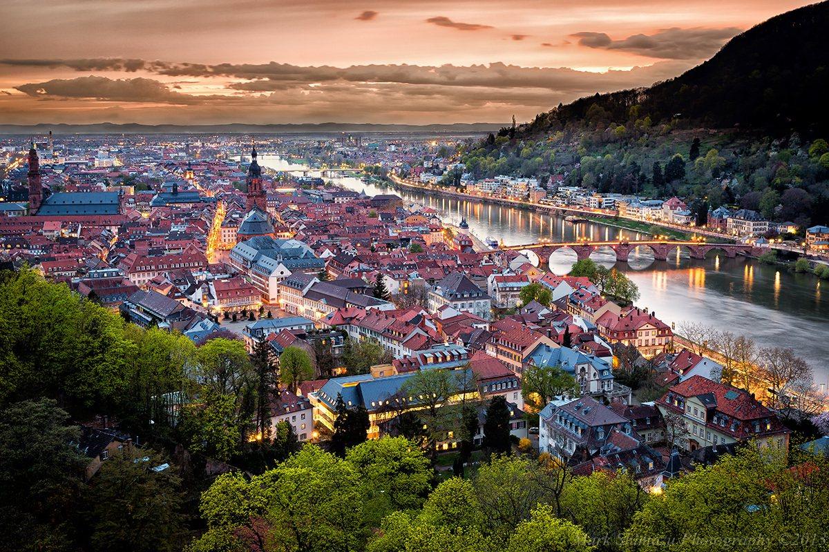 德國最古老的海德堡大學城,與慕尼黑工業大學、慕尼黑大學為全德前三名。 (來源: ...