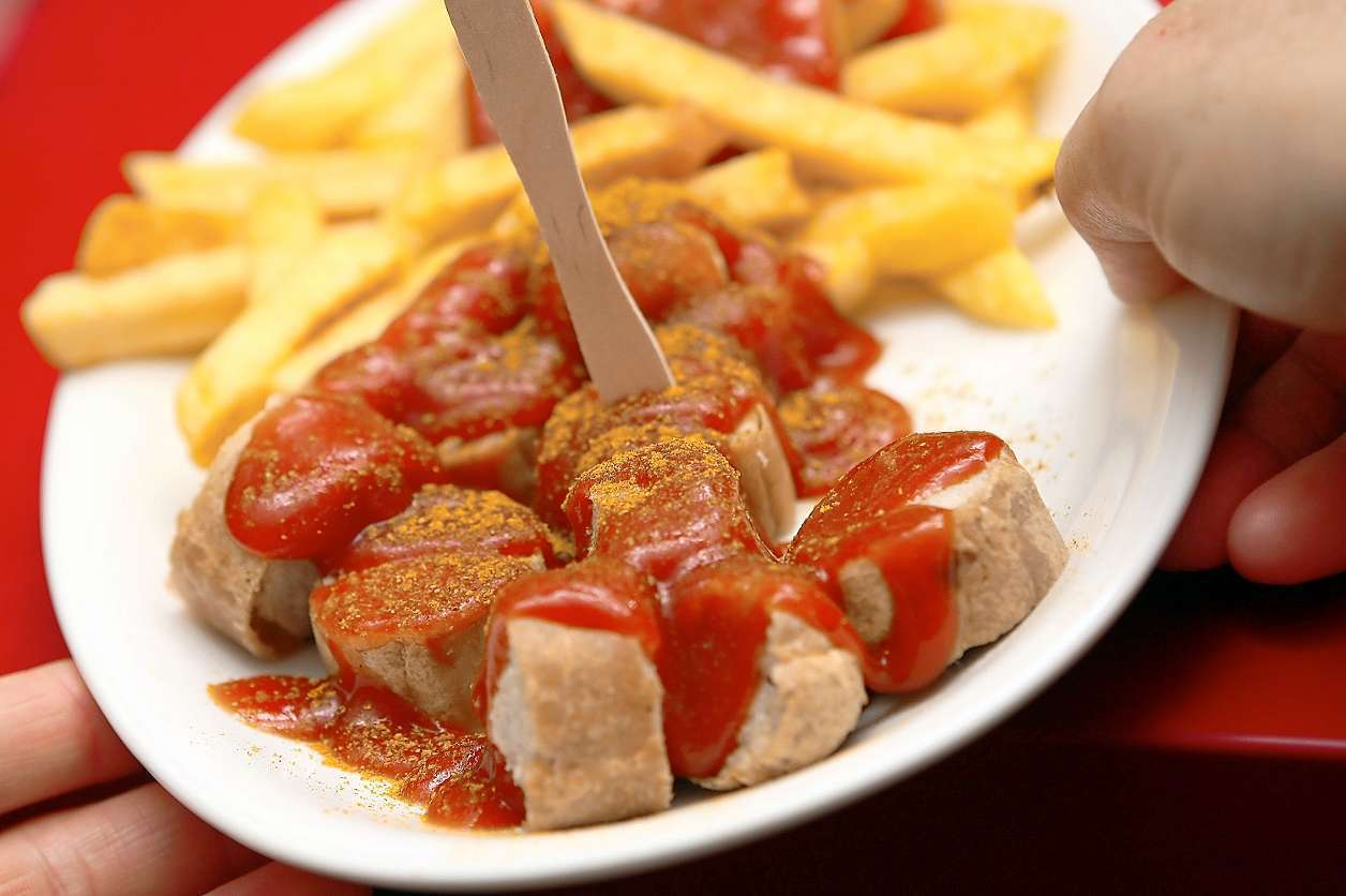 每年吃掉8億根咖哩香腸 (來源: http://www.tagesspiegel...