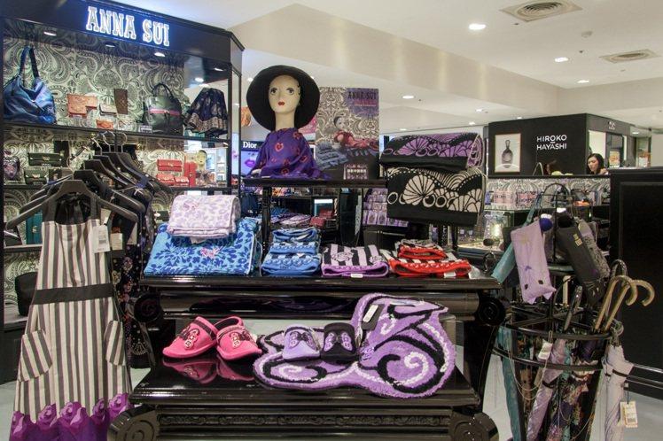ANNA SUI飾品配件代理商滿心企業在今年引進居家用品系列,台灣成為全亞洲第二...