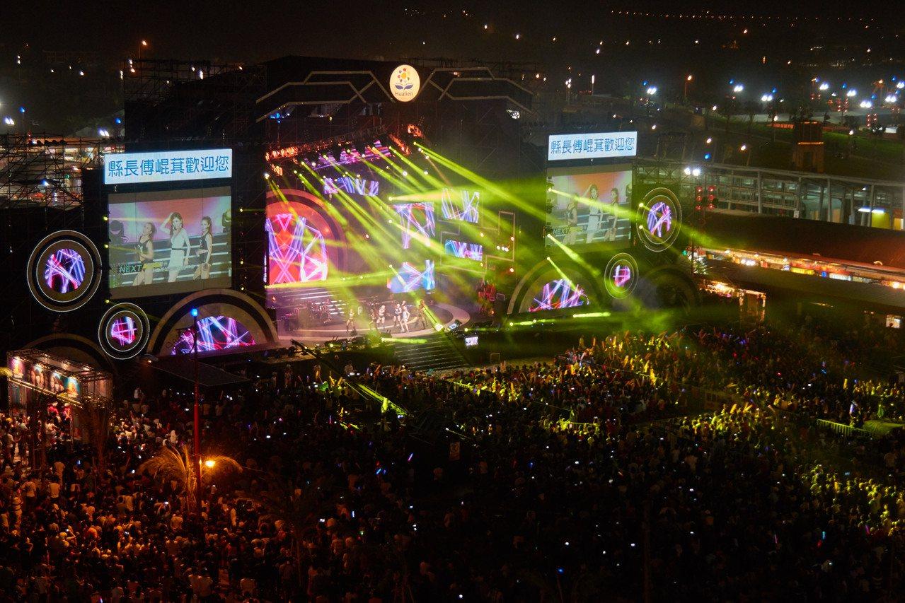 花蓮市六期重劃區是知名藝人歌舞競技場,將推出吸睛之至的「夏戀嘉年華」活動。 圖∕...