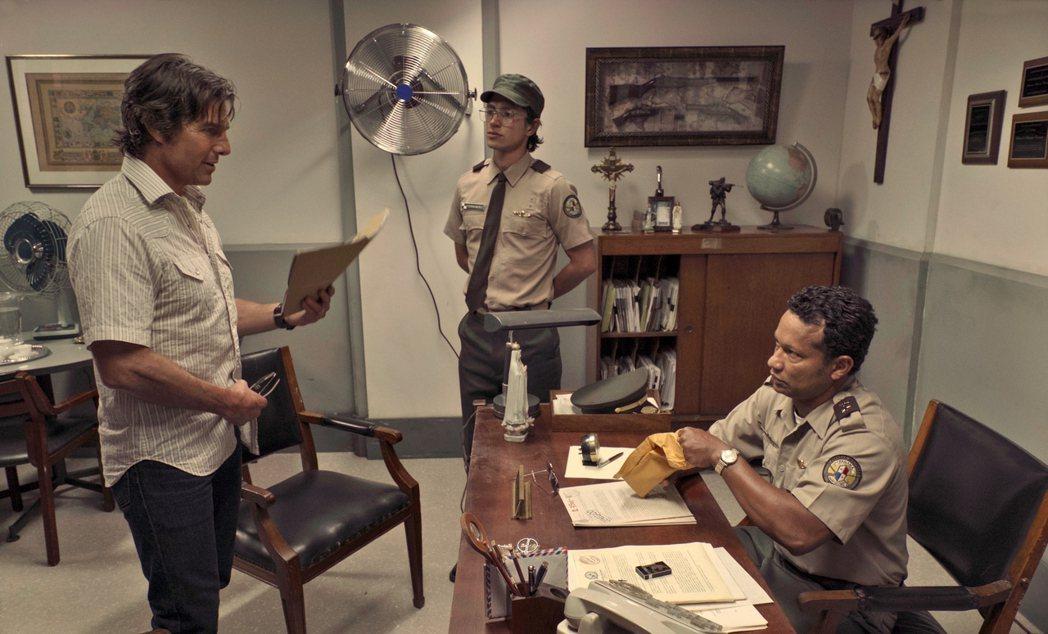阿湯哥新片「美國製造」再與「明日邊界」導演合作。圖/UIP提供