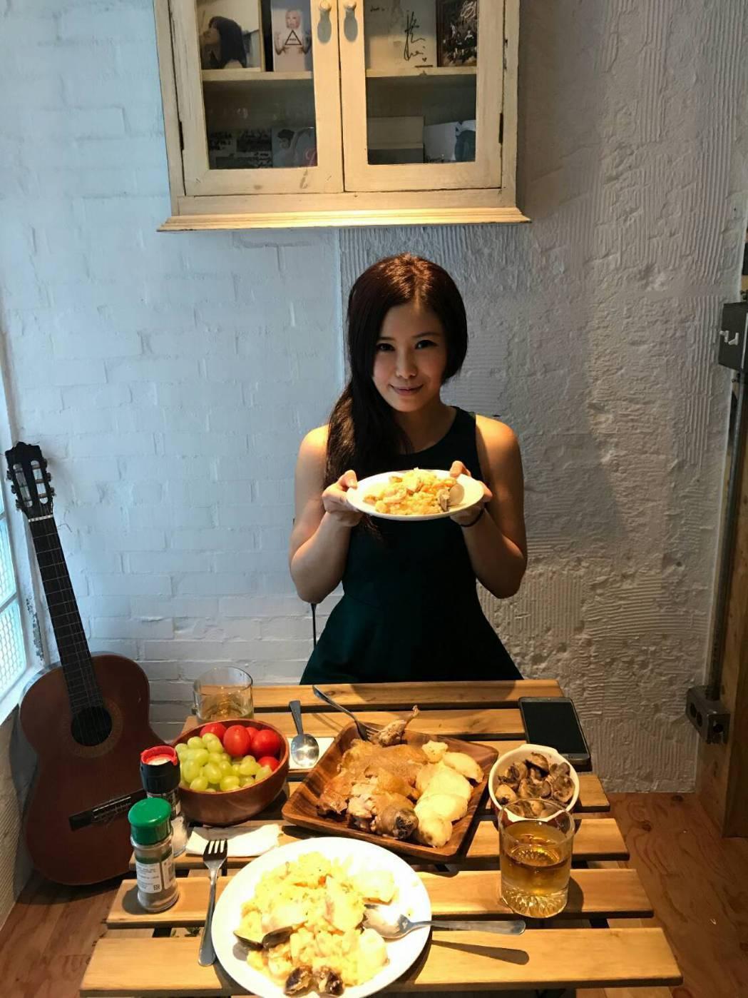 宋燕旻常下廚煮好料。圖/宋燕旻提供
