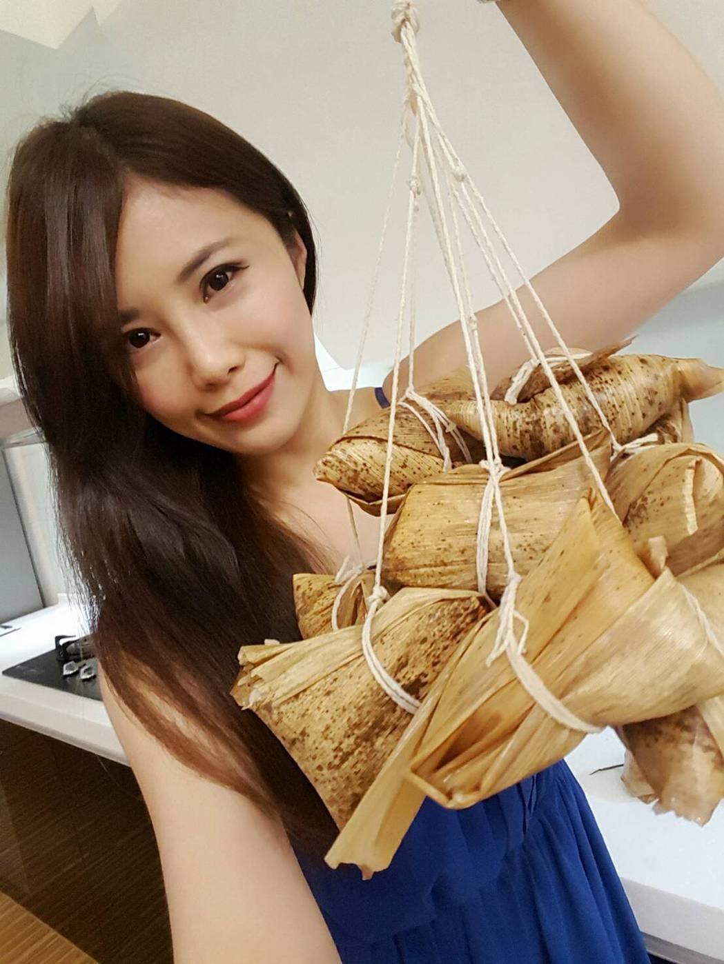 華視美女主播宋燕旻廚藝精湛。圖/宋燕旻提供