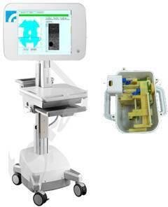 工研院所研發配合高能聚焦超音波技術的超音波溶脂系統。(工研院提供)