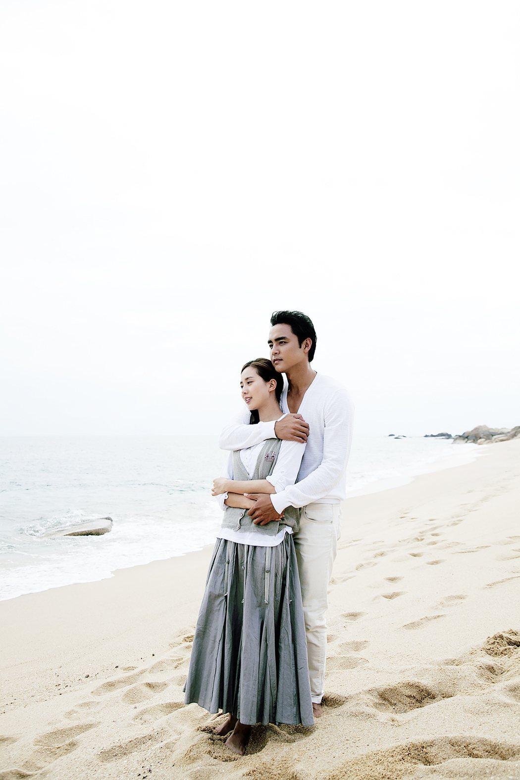 明道、劉詩詩主演「天使的幸福」,描寫單親媽與離島醫生之間刻骨銘心的愛情故事。圖/...