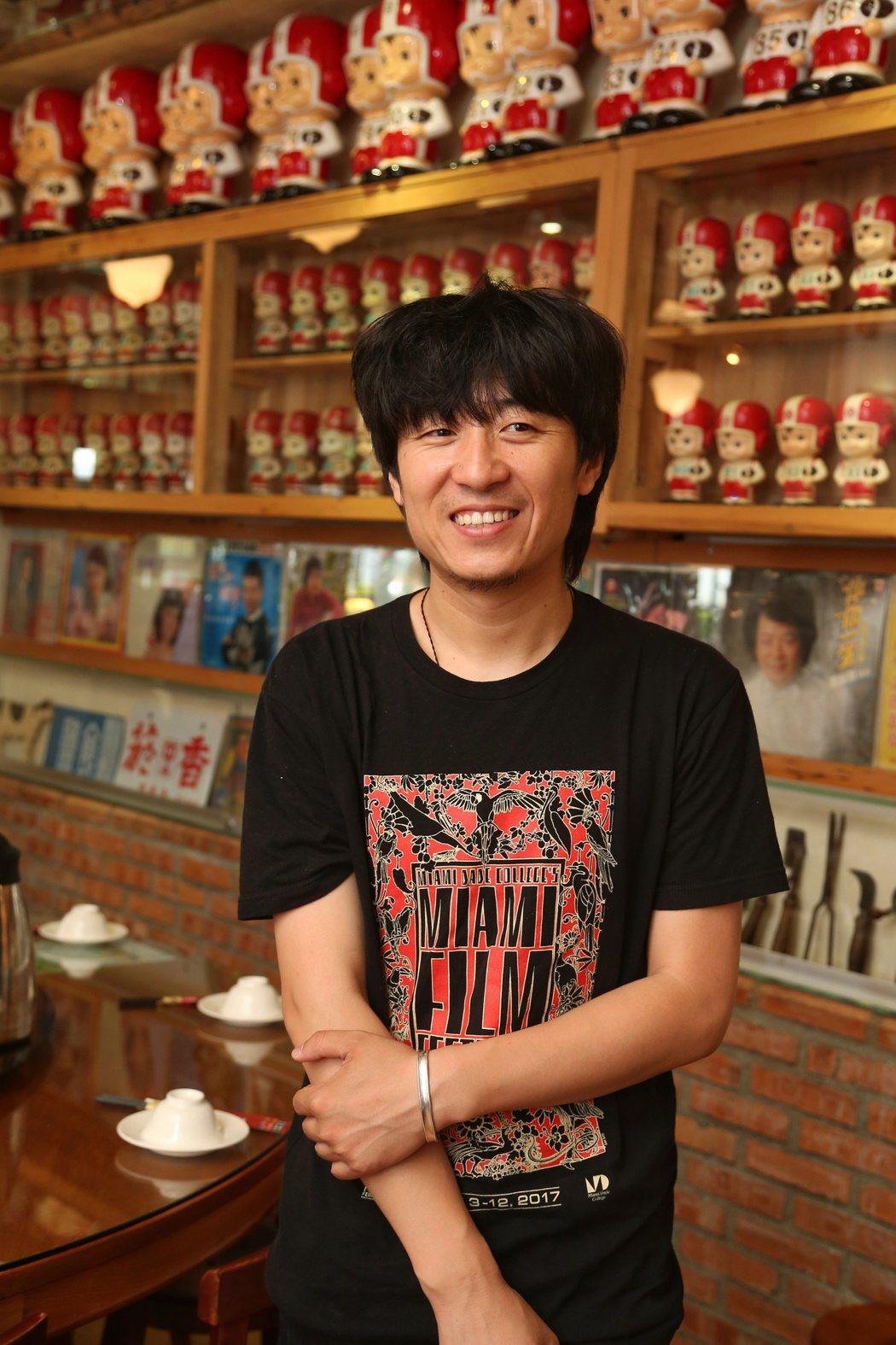 金馬獎最佳影片「八月」導演張大磊。記者陳立凱/攝影
